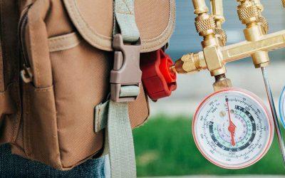 What happens during an HVAC maintenance visit?