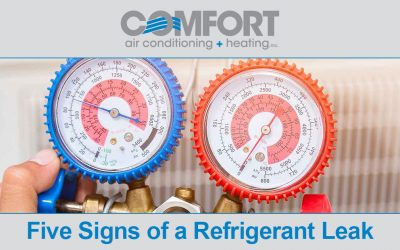 Five Signs of a Refrigerant Leak